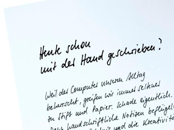 Projekt Füllerschreiben